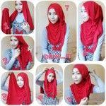 Cara Memakai Hijab Pashmina Spandek Simple Dan Modern