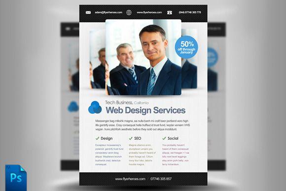 Web Design Flyer Template Web Design Flyer Template Perfect – Web Flyer