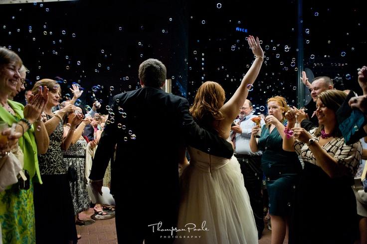 Night bubble send off Whitney's Wedding Pinterest