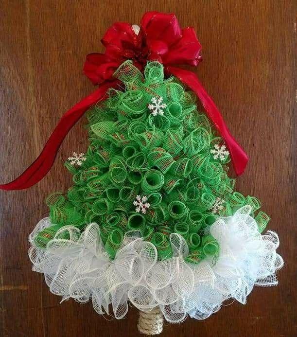 Mesh Christmas tree