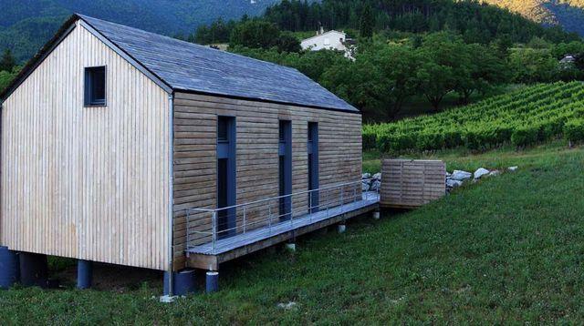 54 best Bardage en bois images on Pinterest Cottage, Residential - maison bardage bois couleur