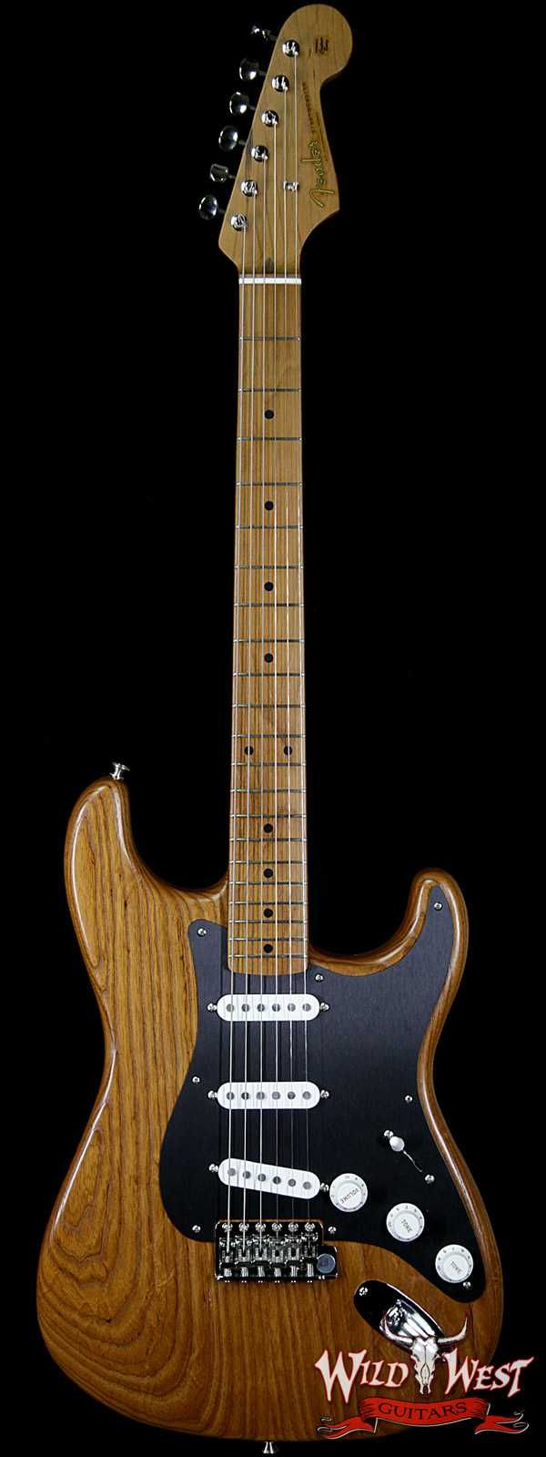 Fender USA FSR American Vintage Limited Edition '56 1956 Stratocaster Roasted Natural V1741762 - Wild West Guitars