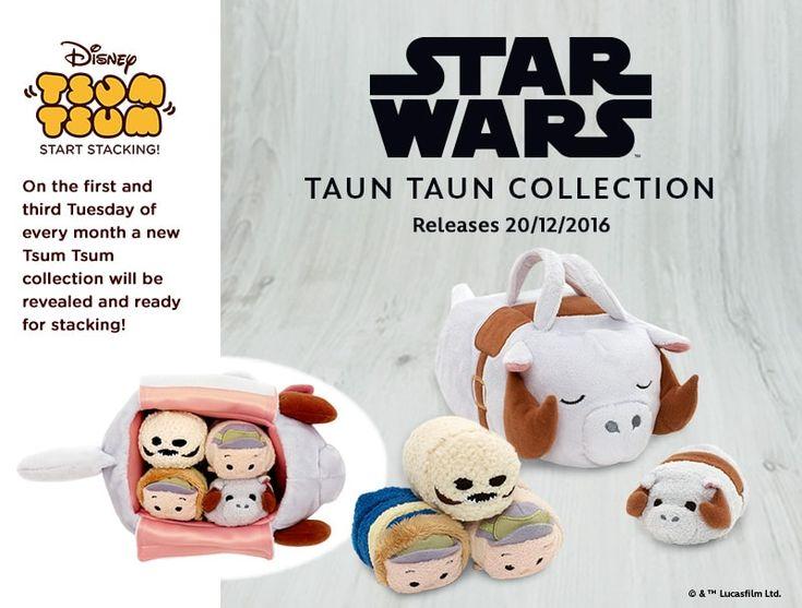 Star Wars Taun Taun Tsum Tsum Collection Coming Soon