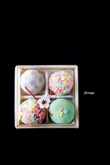 Japanese sweets, Wagashi #japan #sweets #wagashi #photo #travel