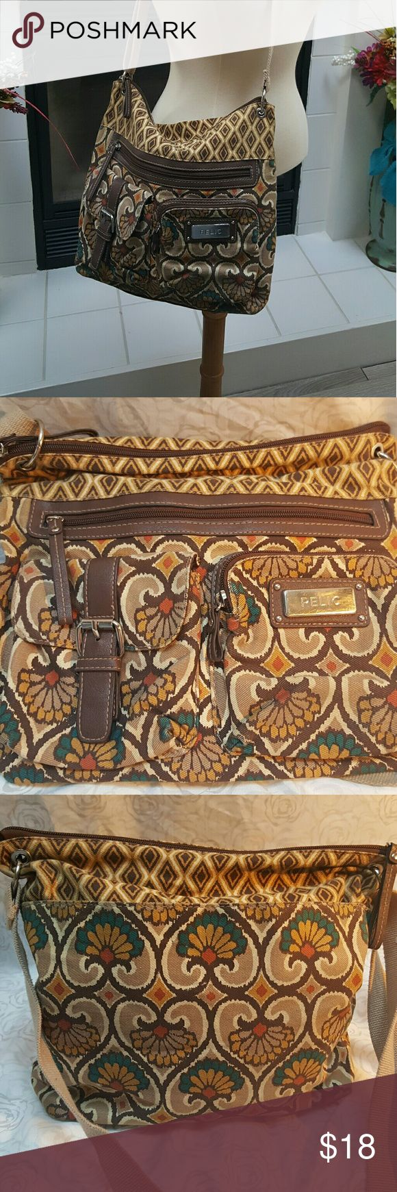 Relic Hipster purse Relic Crossbody floral purse Relic Bags Crossbody Bags