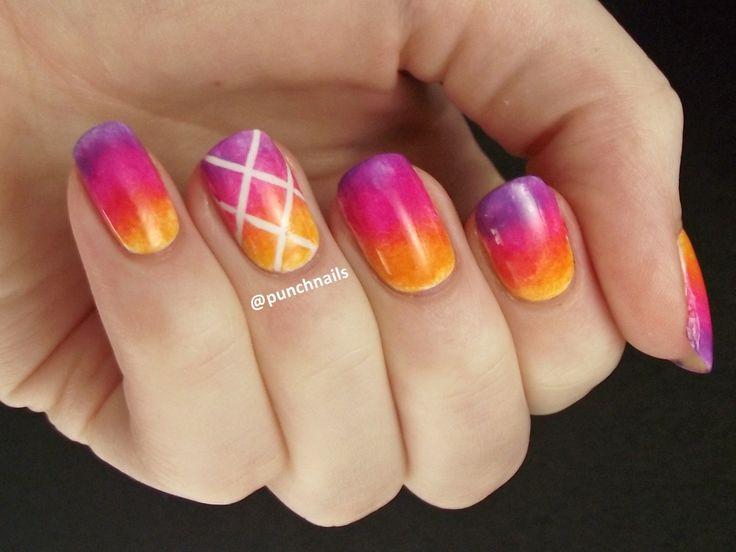 Orange, pink, and purple gradient