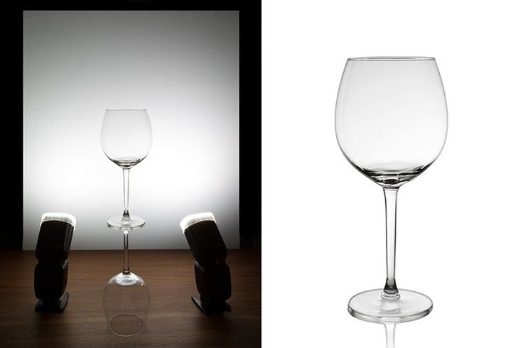 Photographing glass objects is always a complicated task because of the reflective surface, and at the same time translucent nature, of this material. The catalogue images with great glassware perfectly illuminated, are usually done with complicated setups, in studios that allow the control of reflections, and lighting equipment with accessories that are not accessible to most …
