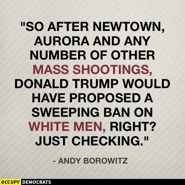 Andy Borowitz, Pointing out the obvious GOP hypocricy