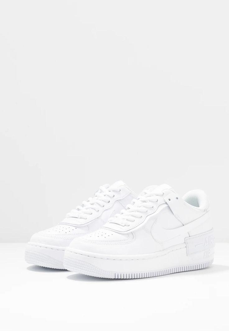 Nike Sportswear AIR FORCE 1 SHADOW - Baskets basses - white/blanc ...