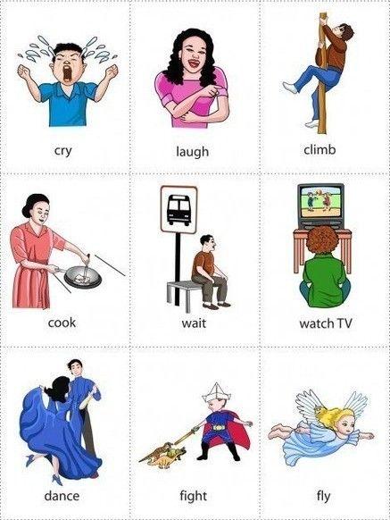 английскй язык в картинках