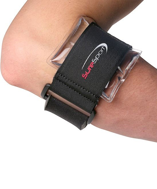 Premium Tennis Elbow Brace & Hot/Cold Therapy Gel Pack