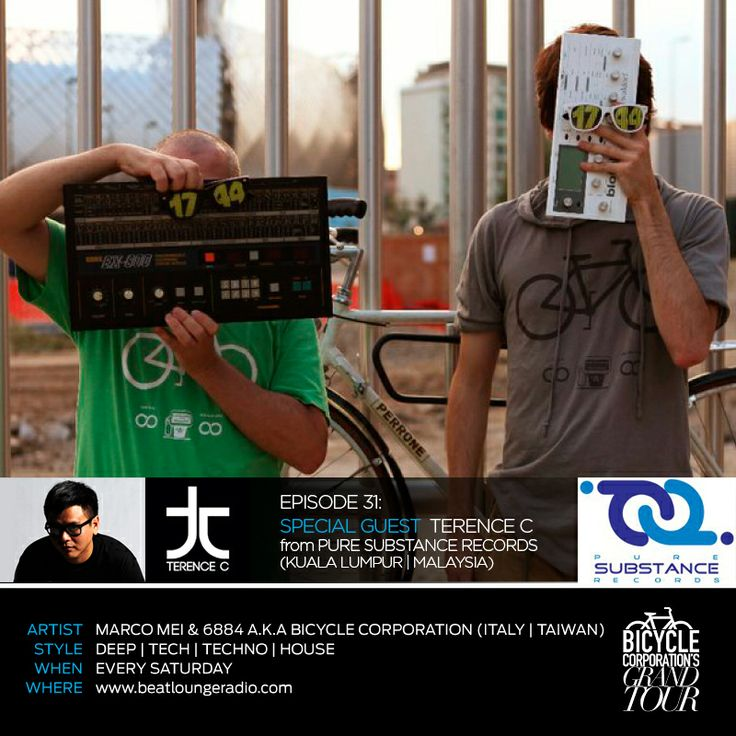 Today don't miss it our Grand Tour on BeatLounge Radio - Los Angeles http://marcomei.wordpress.com/2014/03/01/bicycle-corproation-presents-grand-tour-episode-31-beatlounge-radio-with-special-guest-terence-c-from-malaysia/