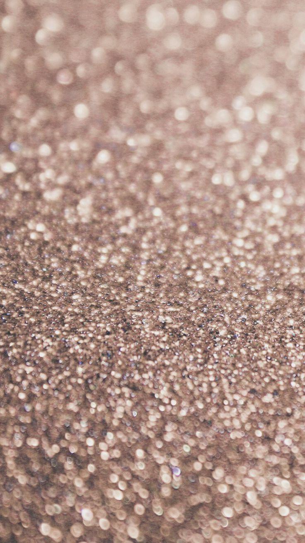 Rose gold glitter background ♡