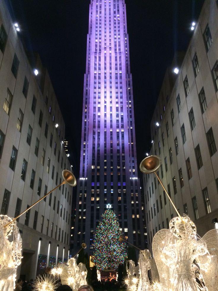 The Rockefeller Christmas tree 2014 ❤️❤️❤️