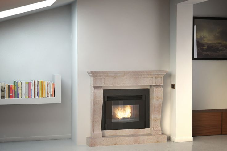 Extraflame Mini crystal with classic frame