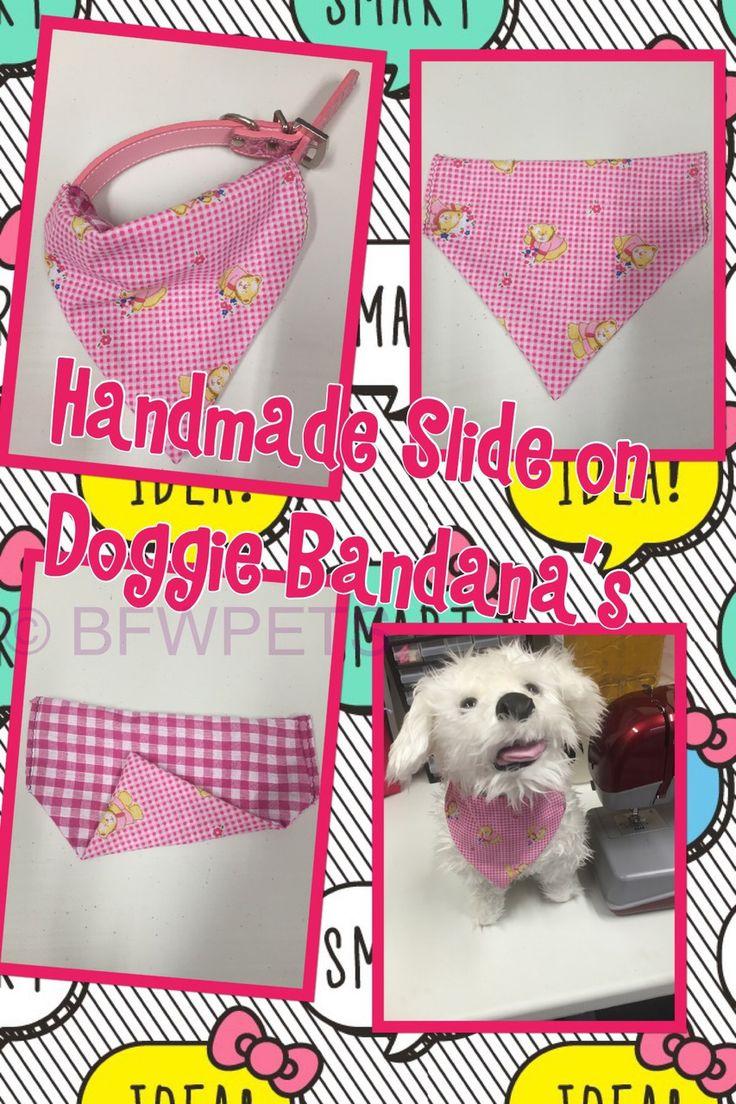 Best Friends World - Handmade Slide On Dog Bandana Scarf, €4.00 (http://www.bestfriendsworld.ie/handmade-slide-on-dog-bandana-scarf/)