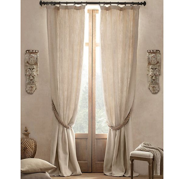 42 best images about restoration hardware makeover on for Restoration hardware window shades
