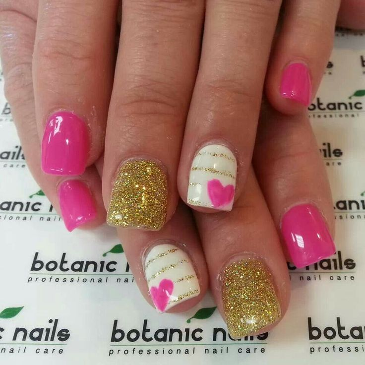 Cute nail design great for valentines day - 119 Best Cute Nail Designs Images On Pinterest Make Up, Nail Art