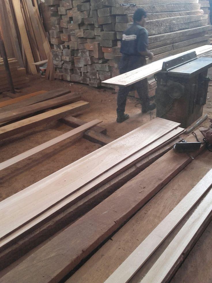Corte de madera