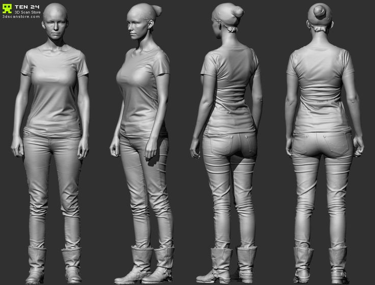 http://forums.newtek.com/showthread.php?131959-Full-Body-3D-scanned-Reference-models