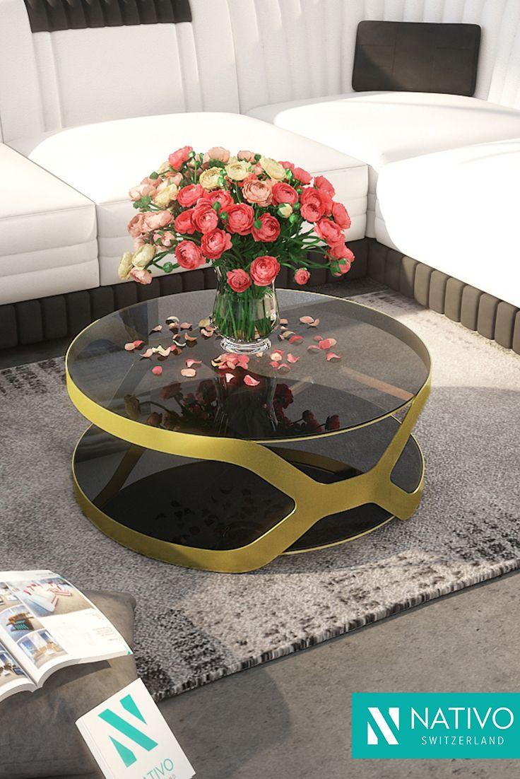 Design Couchtisch INFINITY bei NATIVO Möbel Schweiz günstig kaufen