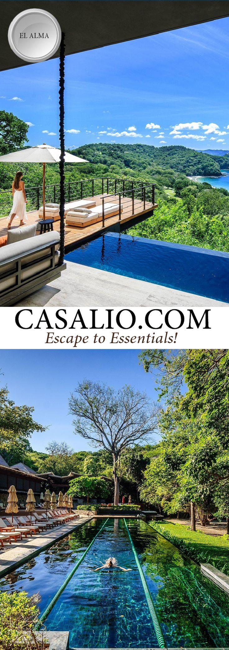 Ferienvilla   Villa Rental Ferienhaus   El Alma is a 3 bedroom designer luxury villa in the lush hills of the Papagayo Peninsula #costarica #papagayo #villarental #luxury #luxurytravel #casalio #travel #reisen #urlaub #ferienvilla #luxusvillen #luxusvilla #ferienhaus