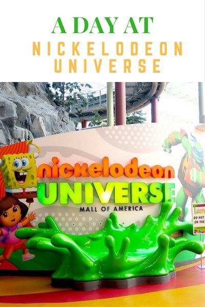 A Day at Nickelodeon Universe inside the Mall of America www.hollydayz.com ©2016 HollyDayz