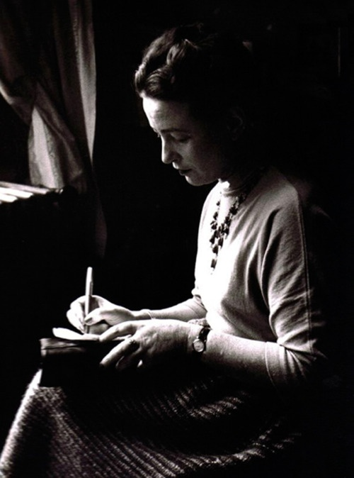 Simone de Beauvoir, 1948