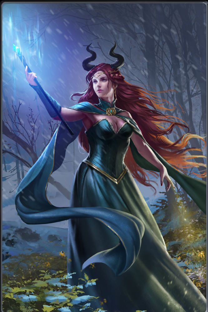 Brighid of the Snow | Heroes of Camelot Wiki | FANDOM powered by Wikia