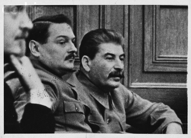 Andrei Zhdanov  and Stalin.