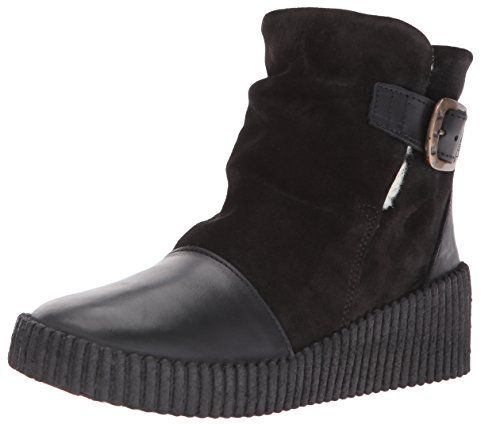 FLY London Womens Acid252fly Snow Boot BlackBlack RugOil Suede 39 EU885 M US ** Click image to review more details.(This is an Amazon affiliate link and I receive a commission for the sales)