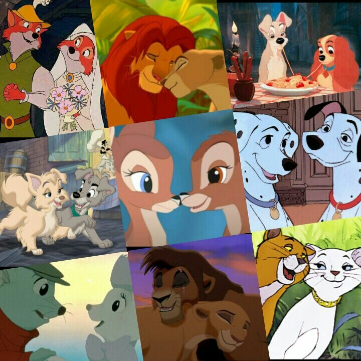 Disney Animal Couple | Disney ♥ | Pinterest | Disney ...