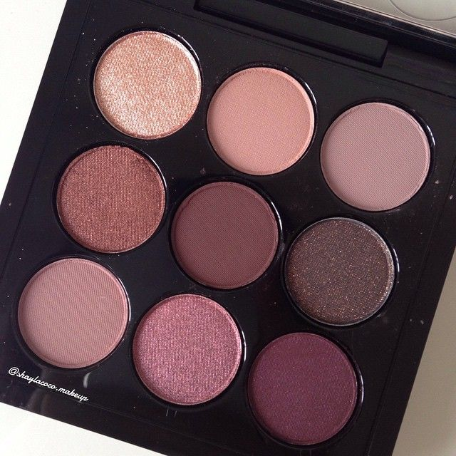 #maccosmetics Burgandy x9 eyeshadow palette