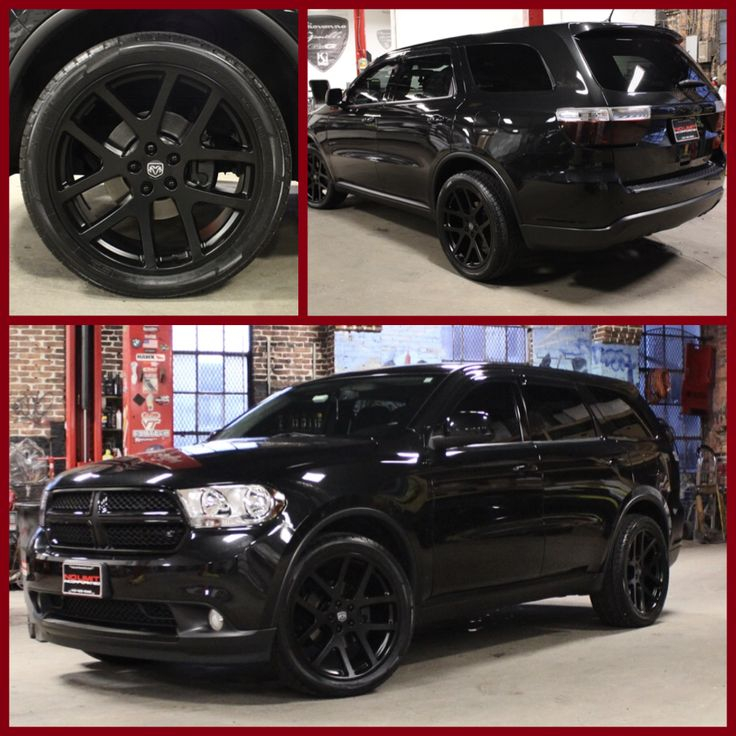 "Dodge Durango Blacktop/ 22"" SRT Wheels"