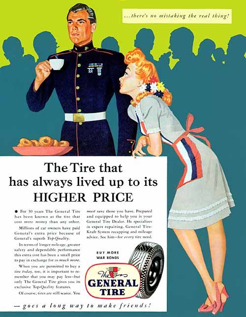 General Tire, 1944 - Dal Holcomb