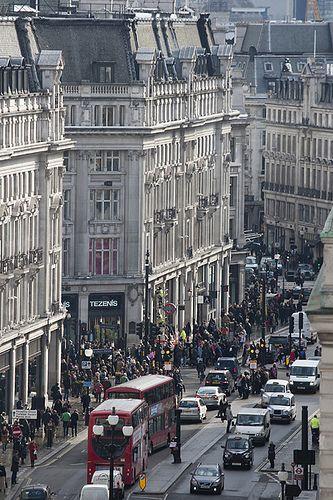 Regent Street, London @ Oxford Circus