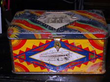 scatola biscotti d'epoca