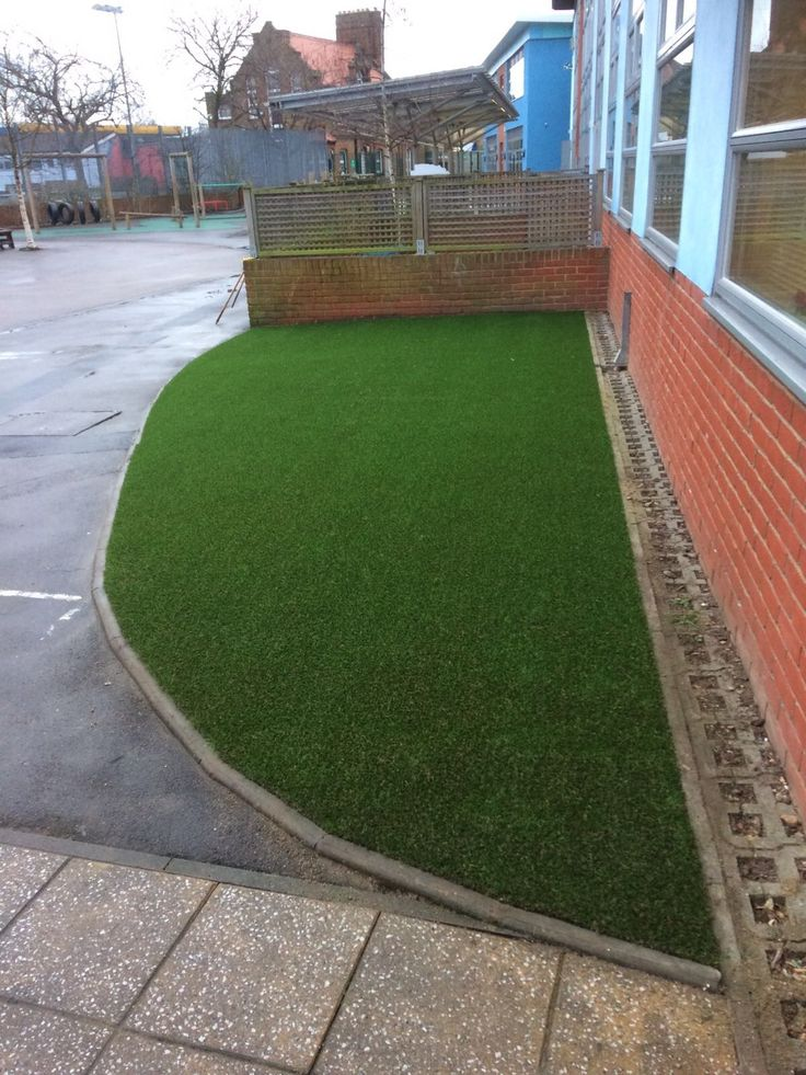 Even a small area of Trulawn can completely transform your outdoor space. #ArtificialGrass #Schools https://www.trulawn.co.uk/news/mayville-school-leytonstone/?utm_campaign=coschedule&utm_source=pinterest&utm_medium=Trulawn%20Artificial%20Grass&utm_content=Mayville%20School%2C%20Leytonstone