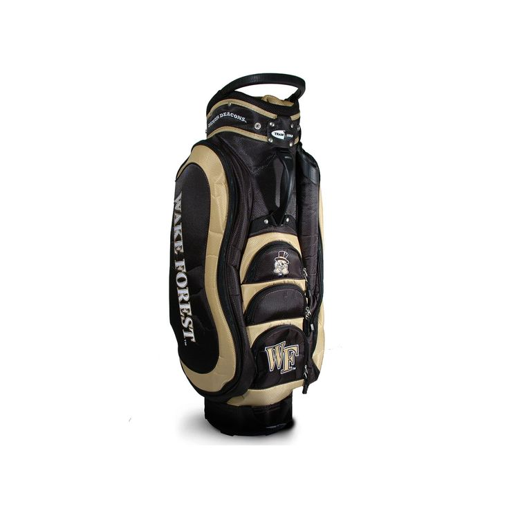 Team Golf Wake Forest Demon Deacons Medalist Cart Bag, Multicolor