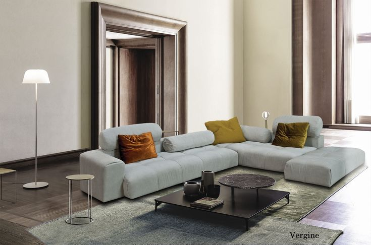 Vergine γωνιακός καναπές