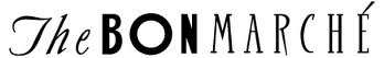 """Seattle based former Northwest's favorite Department store, The BON Marche identity. Translates """"the good buy"""" in French."""