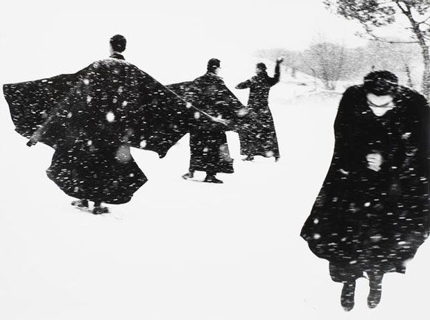 There Are No Hands To Caress - Mario Giacomelli  When snow fell on the Adriatic | Photography | Agenda | Phaidon