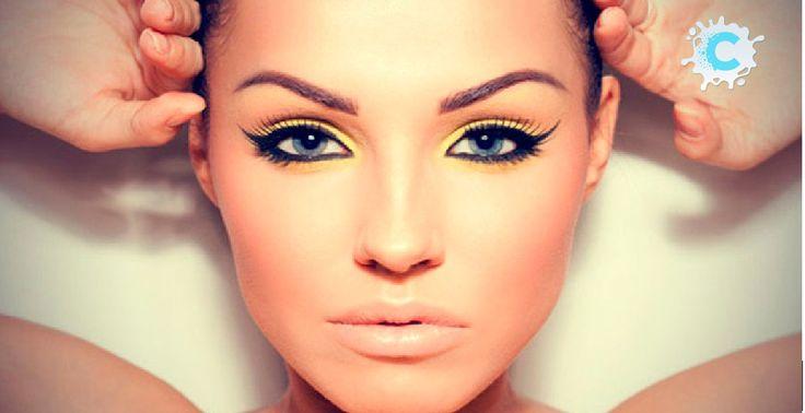 Модный макияж 2016 года с фото Яркое Лето 2016!Советы визажиста http://prini65.com/yarkoe-leto-2016sovety-vizazhista/