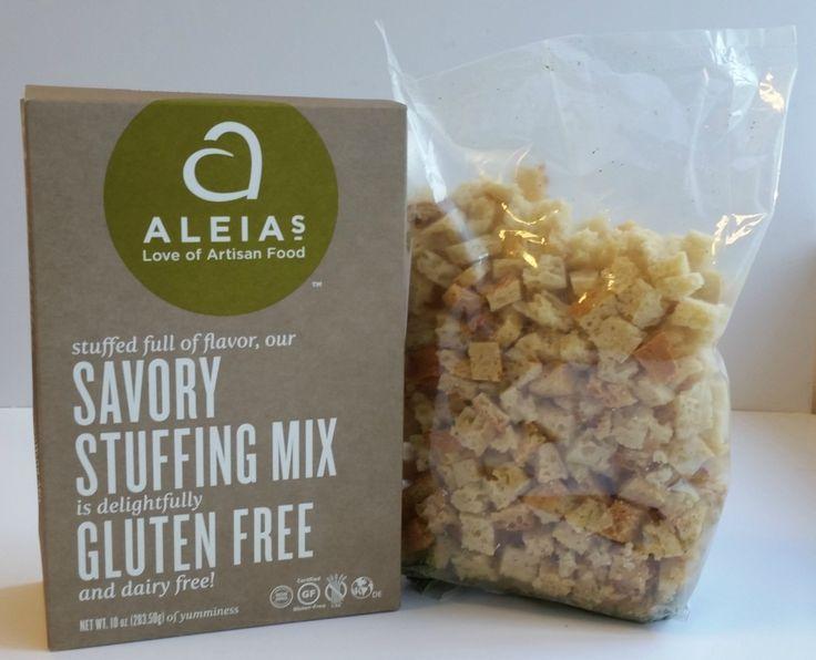 Aleias Gluten Free Foods - Aleia's Gluten Free Savory Stuffing Mix, $5.99 (http://www.aleias.com/aleias-gluten-free-savory-stuffing-mix/)