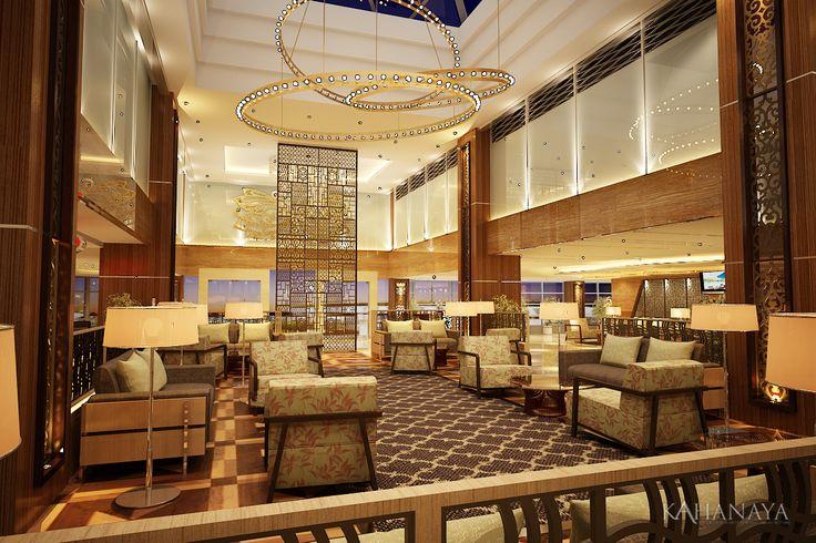 Lobby Design planning at Somerset Hotel Surabaya Indonesia 2012