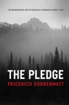 The Pledge  By #FriedrichDurrenmatt Set in a small town in Switzerland, The Pledge centers around the murder of a young girl and the detective who promises the victim's mother he will find the perpetrator. After deciding the wrong man has been arrested for the crime, the detective lays a trap for the real killer—with all the patience of a master fisherman. But cruel turns of plot conspire to make him pay dearly for his pledge. Here Friedrich Dürrenmatt conveys his brilliant ear for dialogue