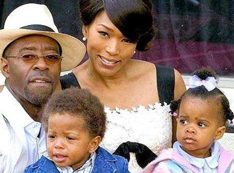 Twin Monique and Her Husband | Courtney Vance, Angela Bassett, twins Slater Josiah and Bronwyn Golden