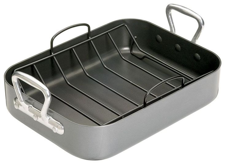 Roasting Tin Teflon with Rack  Non-Stick