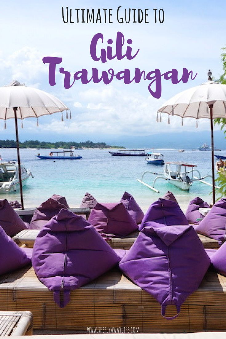 Gili T in Indonesia is an island paradise! With so much to do and see there is something for everyone. This Gili Trawangan travel guide highlights the best!