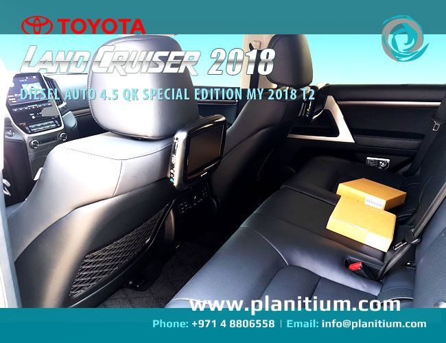 Interior - Toyota Land Cruiser 200 Diesel Auto 4.5 QK Special Edition 2018 SUV. Exporting new Toyota #LandCruiser2018 SUV from UAE. #ToyotaCarExporter #LandCruiserExporterUAE